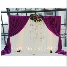 Find More Event & Party Supplies Information about wholesale and retail  lovely  10x10 reception backdrop , white and purple backdrop wedding reception, backdrop 300cm,High Quality backdrop,China backdrop print Suppliers, Cheap backdrop wallpaper from My Wedding Supplies on Aliexpress.com