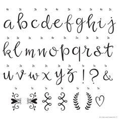 Letter Set Script