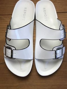a7981d04e3ac Report Jamm Ladies Size 9 M Sandals White Jelly Women s Shoes New in Box   Report