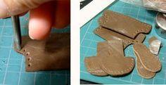 革遊び的レザークラフトとか:革ブーツ型紙制作からの~縫いからの~靴底で悩むまで…