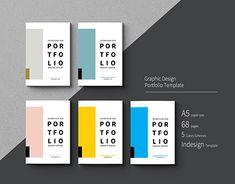 "Check out new work on my portfolio: ""Graphic Design Portfolio Template"". Portfolio Design, Mise En Page Portfolio, Portfolio Covers, Portfolio Book, Graphic Portfolio, Creative Portfolio, Layout Design, Graphisches Design, Plakat Design"