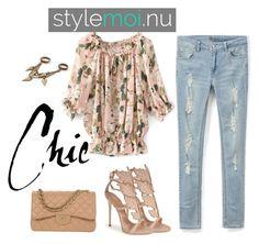 """""""Stylemoi.nu 12"""" by b-mubera ❤ liked on Polyvore featuring mode, Giuseppe Zanotti, Chanel et stylemoi"""