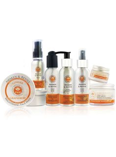 Complete Brightening Skin Care Range from PHB