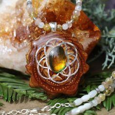 Third Eye Pinecone Necklace November 2017