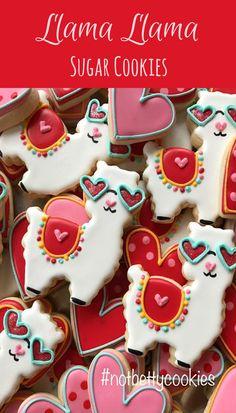 2 Dozen Llama Llama Sugar Cookie Collection Party Cookies #affiliate