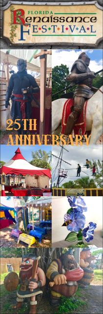 The 25th Anniversary of the Florida Renaissance Festival – Mom Junky