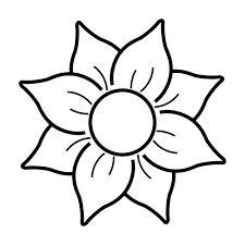 Dibujos De Flores En Macetas Para Colorear