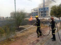 Jaén capital, olor a quemado durante el verano por pirómanos y negligencia