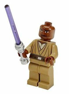 Amazon.com: Mace Windu Lego Magnet- Lego Star Wars Minifigure: Clone Wars with Lightsaber