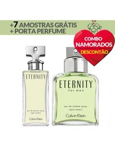 Eternity Masc. 100ml + Eternity Fem. 100ml