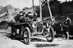 the great race gallery   The Great 1908 Paris-to-New York Automobile Race July 30, 1908, an ...