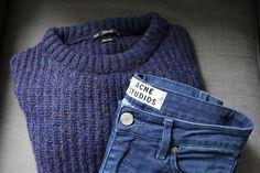 Zara sweater - Acne Studios slim
