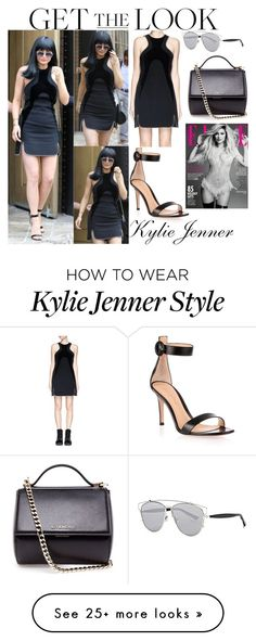 """""""Kylie Jenner Los Angeles October 27, 2015"""" by valensmilerstyle on Polyvore featuring Alexander Wang, Givenchy, Christian Dior and Gianvito Rossi"""