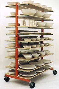 Image result for pottery drying shelves ikea