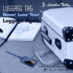 Travel in style with our new range of luggage tags from Leather Talks. 100% genuine and durable leather tags that will let you travel with much peace in mind.   #leathertags #leathertalks #colourfultags  http://leathertalks.com/product/luggage-tag1