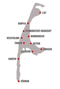 Die Inselorte Sylts an der Nordsee, Deutschland - Tierischer Urlaub mit Hund und Katze (c) Sylt Marketing  Auf der Insel Sylt gibt es 16 ausgewiesene Badestrände, wobei von 1. November bis 14. März Hunde alle Sylter Strände zum Auslauf nutzen dürfen. Urlaub mit Hund in Deutschland