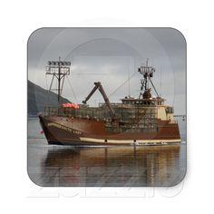 Arctic Lady, Crab Boat in Dutch Harbour