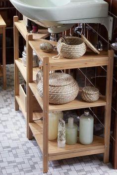 RÅGRUND Sink shelf/corner shelf ($39.99/ea).