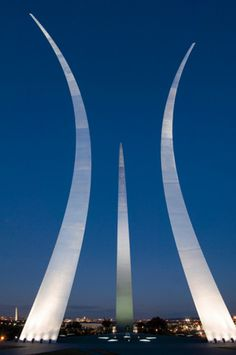 United States Air Force Memorial by OVI - Office for Visual Interaction