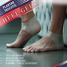 Plantar Fasciitis Inserts Heel Protectors - Silicone Gel Heel Cups Shoes Inserts, Orthotics Heel Cushion for Bone Spur & Heel Spur Pain Relief 3 Pairs of Foot Pain Plantar Fascitis Heel Sleeves - Heel Pain, Foot Pain, Plantar Fasciitis Inserts, Handy Tips, Silicone Gel, Pain Relief, Cushion, Cups, Dance Shoes
