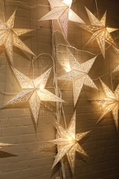 Use any star-shaped lights for decorations for your Out of this World Date Night.