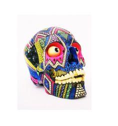 Decorated skull.
