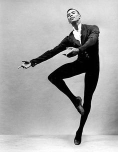 arthur mitchell challenged the idea that black bodies were not suited to classical ballet. He danced with george balanchine's new york city ballet in the and the first BBack dancer to become a leading dancer with a ballet company . Today In Black History, Black History Facts, Alvin Ailey, Black Art, Black Dancers, Male Ballet Dancers, Black Ballerina, George Balanchine, Ballet Companies