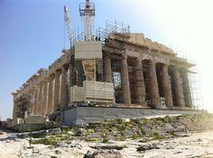 Partenón (Acrópolis, Atenas, Grecia). #Viajar #viajes #destinos #turismo #atenas #acropolis #partenón #acrópolis #partenon