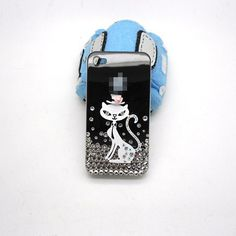 Handmade hard case for iPhone 4 & 4S Bling cute by CheersCases, $24.99