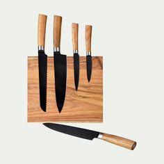 6 Couteau Couteau Support Couteau Bloc bambou cuisine Bloc M soies ambulance F