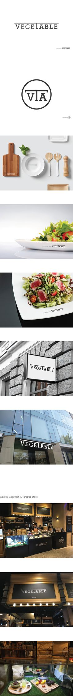 VEGE TABLE_Salad Shop Branding Design  Year : 2015 (5일 소요)  본인 참여도 : Branding Design(100%)