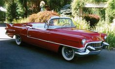 Or the Eldorado for Henri...Sold* at Scottsdale 35th Anniversary 2006 - Lot #456 1955 CADILLAC ELDORADO CONVERTIBLE