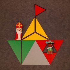 Plakboek: Stoomboot van constructieve driehoeken