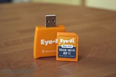 EyeFi Pro X2 by Daniel Cooper, engadget:  16GB of storage and a WiFi radio into an SD cards! #Photography #EyeFi