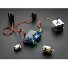 We are a distributor of great Maker Electronics products including the best from Adafruit, Arduino, Raspberry Pi, and more. We would like to show off some demonstrations of Arduino and Pi projects … Servo Arduino, Arduino Mega, Arduino Stepper, Arduino Motor, Shield Arduino, Electronics Projects, Electronics Gadgets, Electrical Projects, Electronics Components