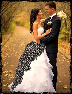 Fleur delacour themed dress for the bride
