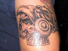 Beginnings Of Aztec Tattoos