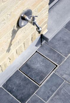 concealed drain | outside tap