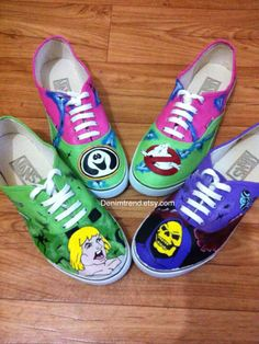 793bec16f2c3 Worth fighting over Chucks.  3 All Star Converse. See more. New Painted  Vans Shoes for fans  ) He-Man and Ghost Busters  )