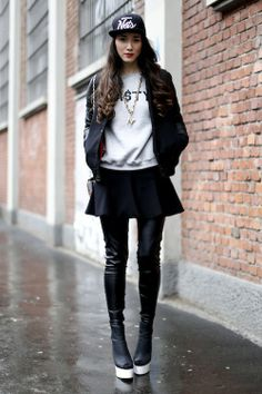 10 Street Style Personas - theFashionSpot