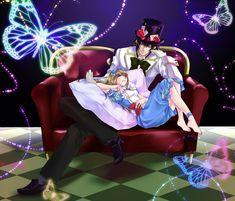 Heart no Kuni no Alice (Alice In The Country Of Hearts) Image - Zerochan Anime Image Board Go Wallpaper, Heart Wallpaper, Manga Art, Manga Anime, Alice In Wonderland Aesthetic, Alice Anime, Peter White, Joker, Disney Cartoons