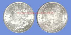 John B. Hamrick has this item on Collectors Corner - 1892-CC $1 MS62 PCGS