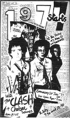 THE CLASH, CHELSEA and THE SOUNDS.