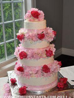 Kensington gardens wedding cake gig harbor
