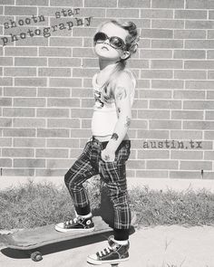 Punk Rock Kids Portraits by Shoot'n Star Photography....of course, this is in the awesome  city of AUSTIN!