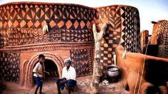 A Fascinating Look At Beautiful Homes Of The Kassena People | So Bad So Good