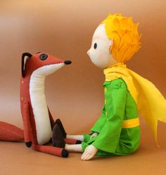 juguete de patrón original 50 cm el niño por MokosMiniature