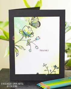 Excitement is in the air! Today, CASology is participating in a fantastic… Fusion Card, Altenew Cards, Open Art, Cardmaking And Papercraft, Simple Doodles, Love Cards, Pretty Cards, Card Making Techniques, Watercolor Cards