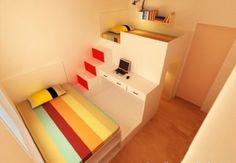 Space-saving bedroom decor idea
