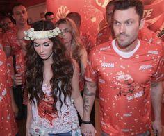 Megan Fox e Brian Austin _ Carnaval do Rio 2013
